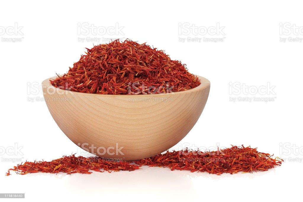 Saffron stock photo