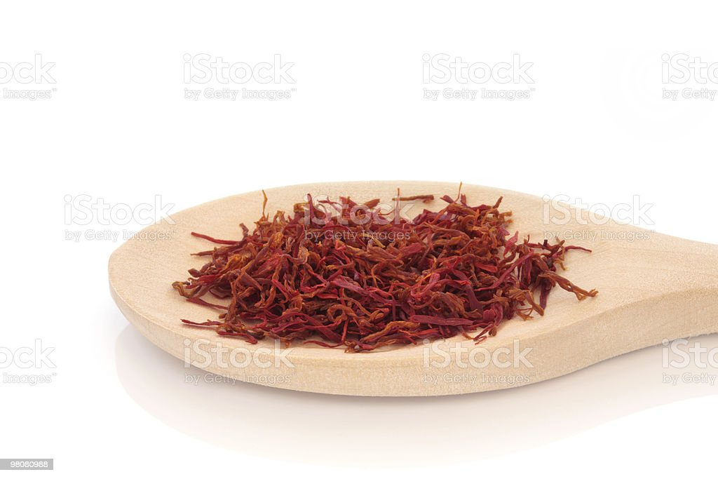 Saffron Spice royalty-free stock photo