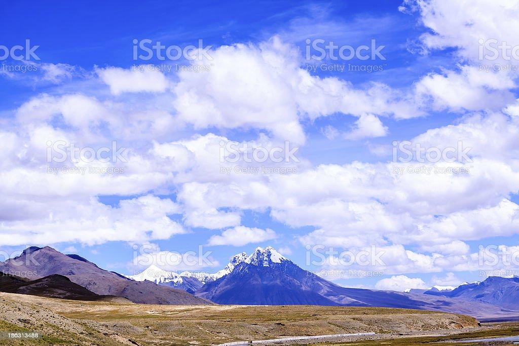 Saga mountain royalty-free stock photo