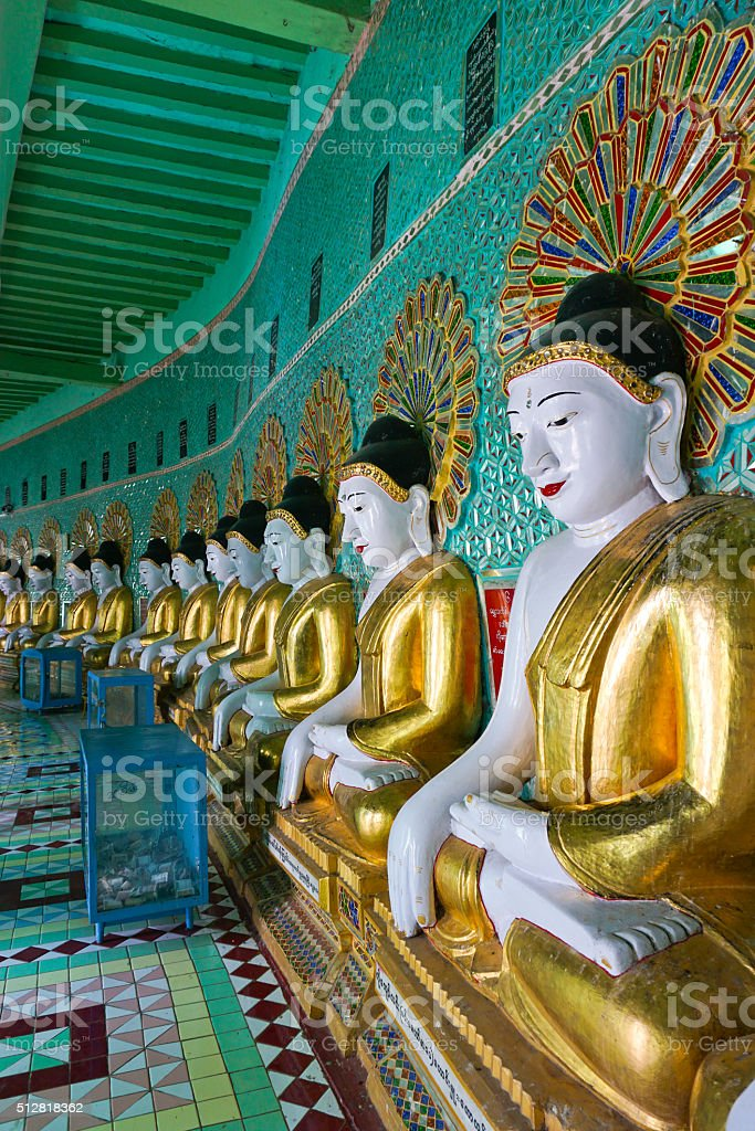 Sagaing, Mandalay stock photo