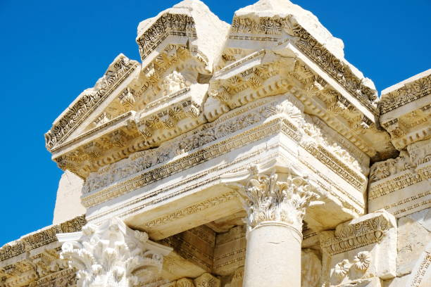 Sagalassos antique city in Turkey stock photo