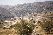 A high section from Sagalassos Antique City, Aglasun, Burdur, Turkey.