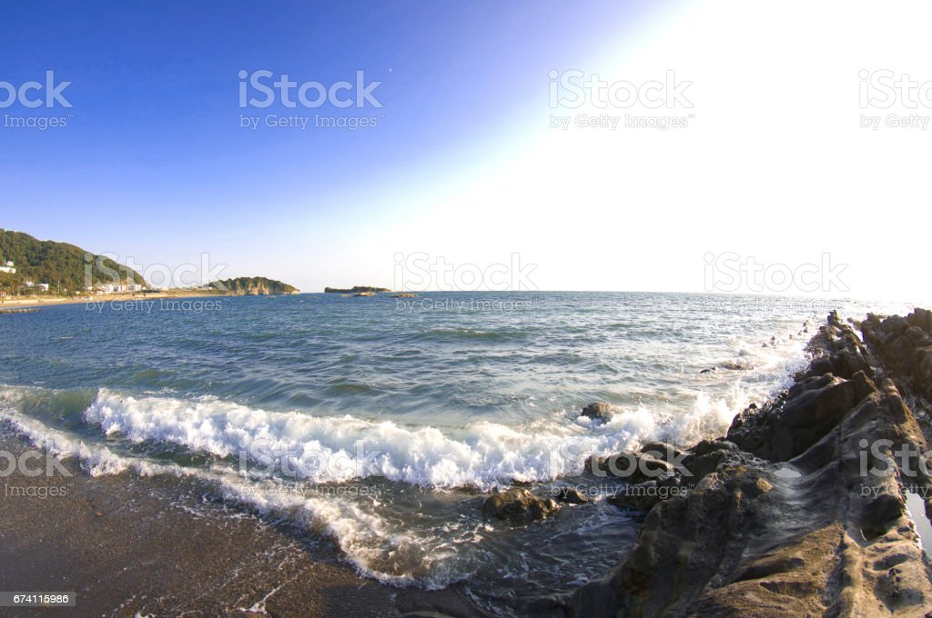 Sagami Bay royalty-free stock photo