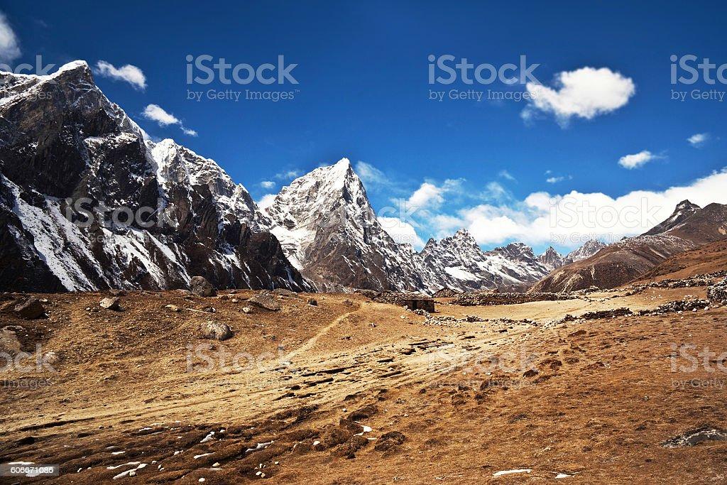 Sagarmatha National Park, Everest region, Nepal stock photo