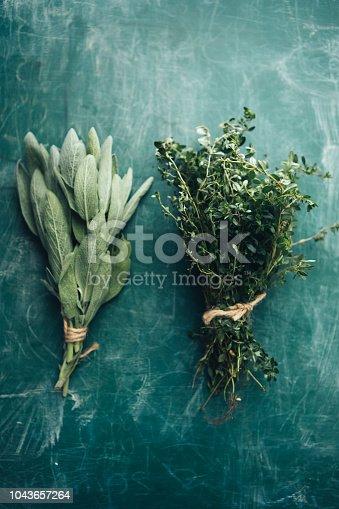 istock Sage and Oregano 1043657264