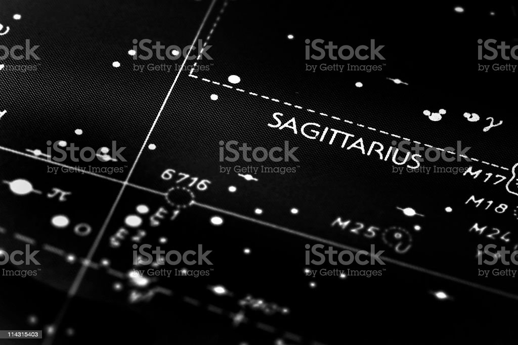 Sagittarius Constellation Stock Photo - Download Image Now
