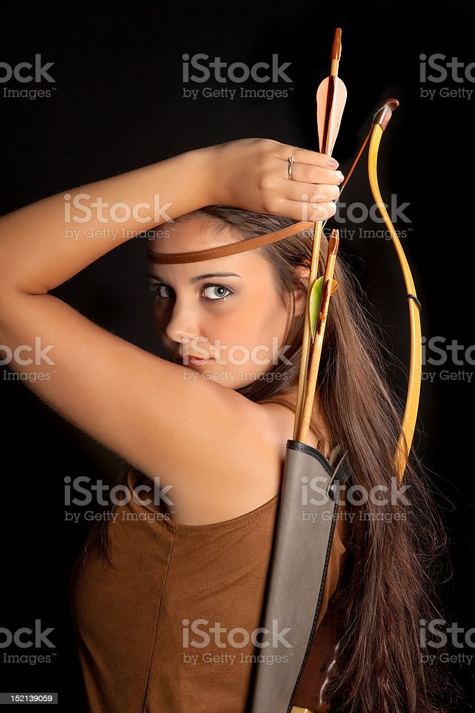 Sagittarius stock photo