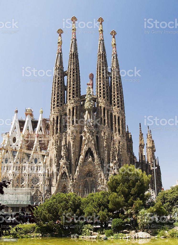 Sagrada familia 4 royalty-free stock photo