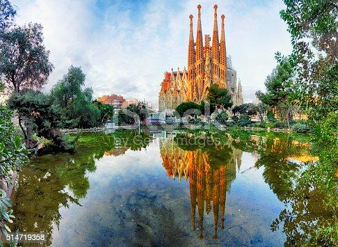 Sagrada Familia, Barcelona. Spain.