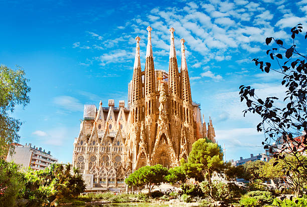 Sagrada Familia Cathedral in Barcelona Sagrada Familia Cathedral in Barcelona, Spain barcelona spain stock pictures, royalty-free photos & images
