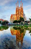 Sagrada Familia -  in Barcelona, Spain.