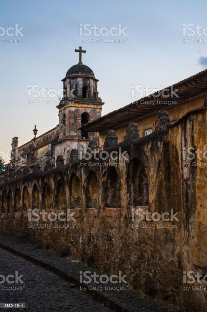 'Sagrario' Church in Patzcuaro. foto de stock royalty-free
