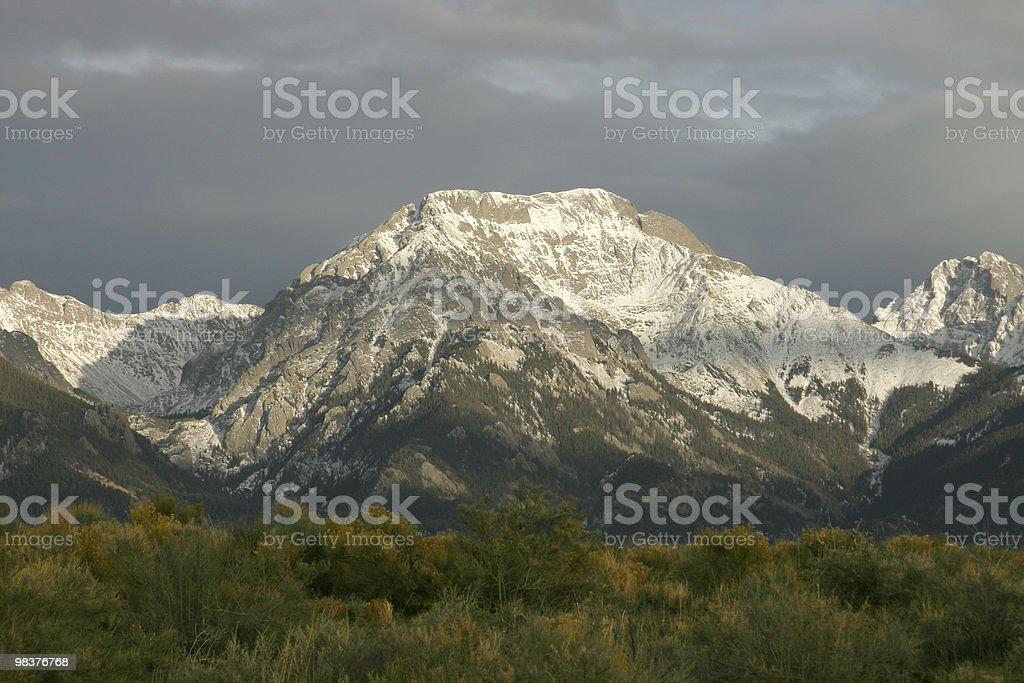 Sagre de Cristes mountains royalty-free stock photo