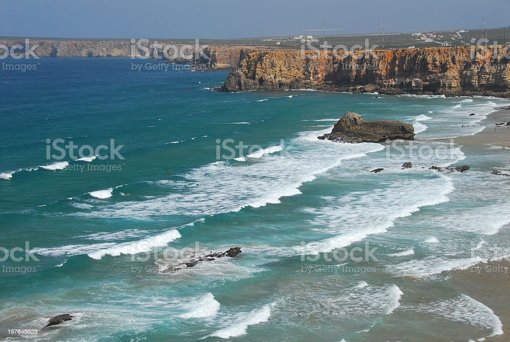 Sagres Cliff royalty-free stock photo