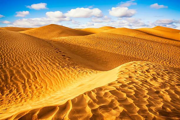 Desierto del Sahara-Douz, Túnez. - foto de stock