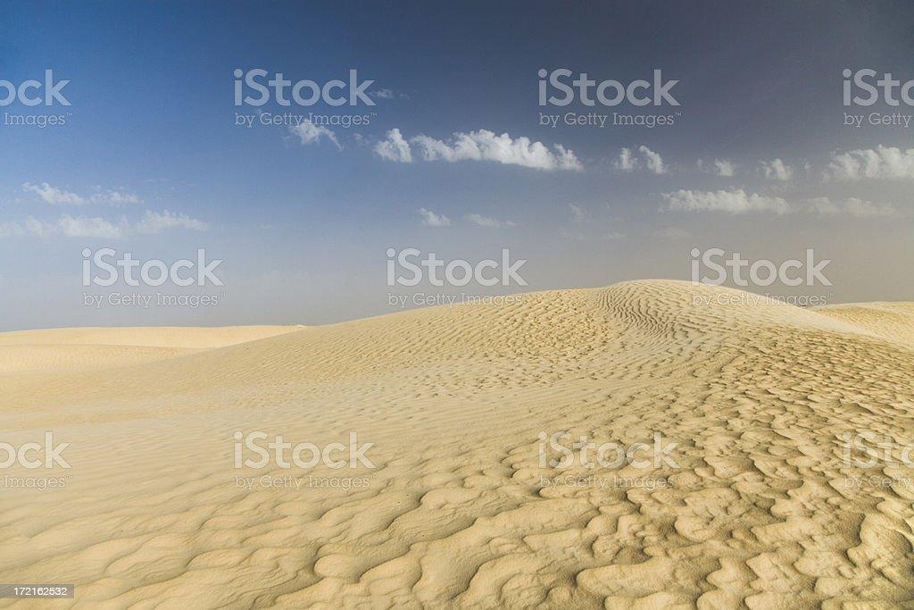 sahara desert dune royalty-free stock photo