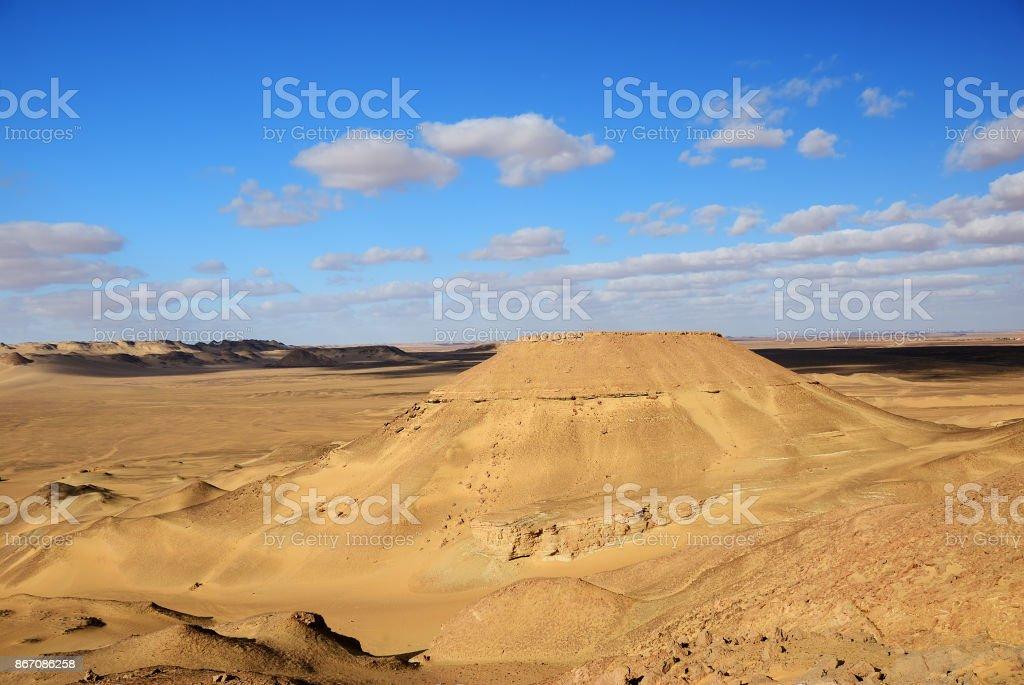Sahara desert, Egypt stock photo
