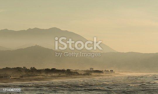 sand dunes sky panorama background texture