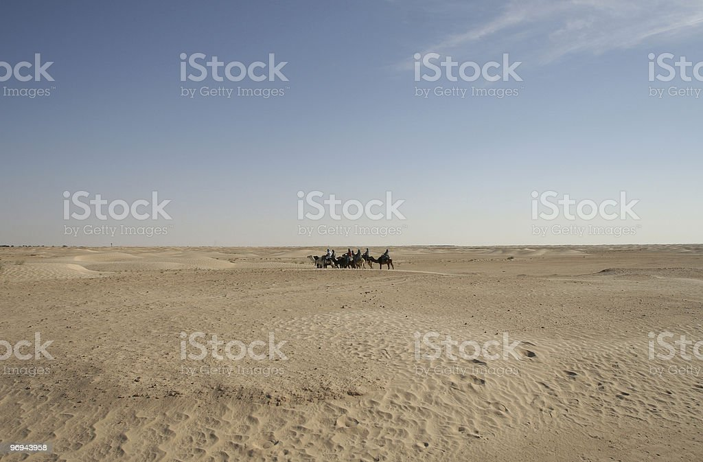 Sahara Desert Trip royalty-free stock photo