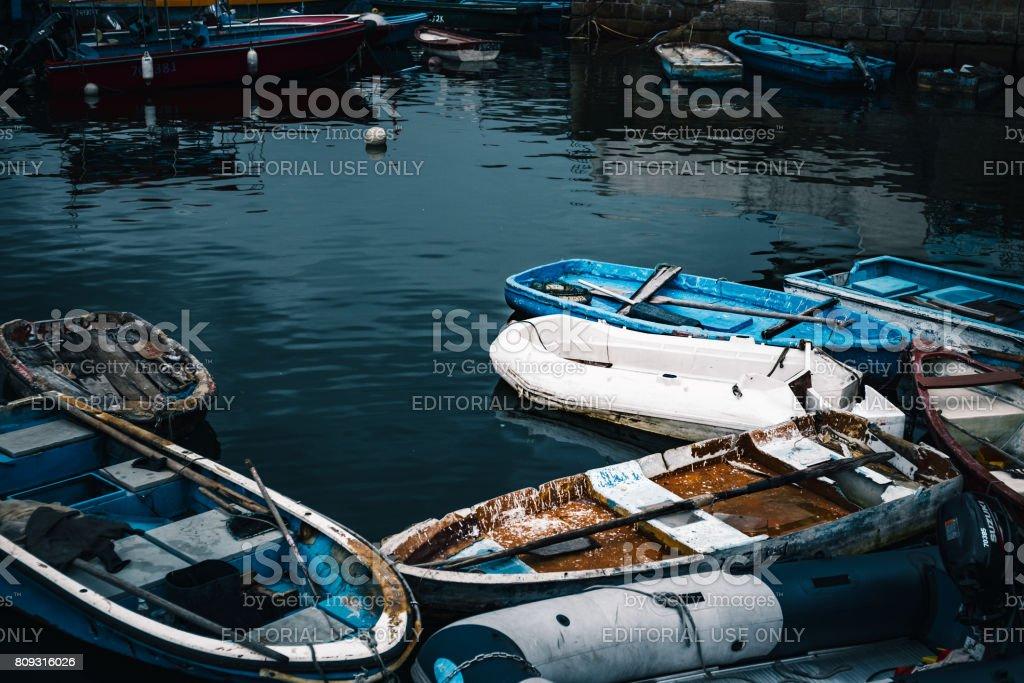 Sai Kung Fishing Village stock photo