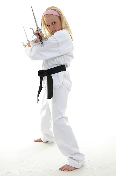 sai tension - martial arts gerville stock pictures, royalty-free photos & images