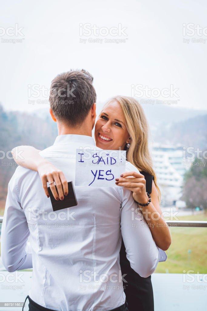 Ich sagte ja! – Foto