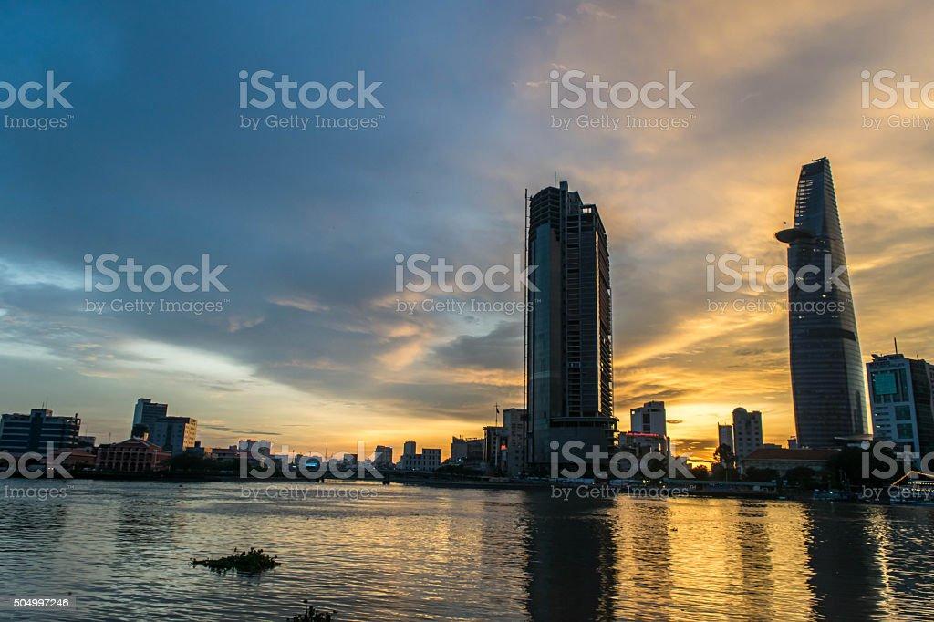 サイゴン川 ストックフォト