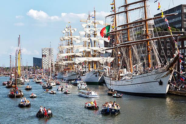 Sail Amsterdam 2015 stock photo