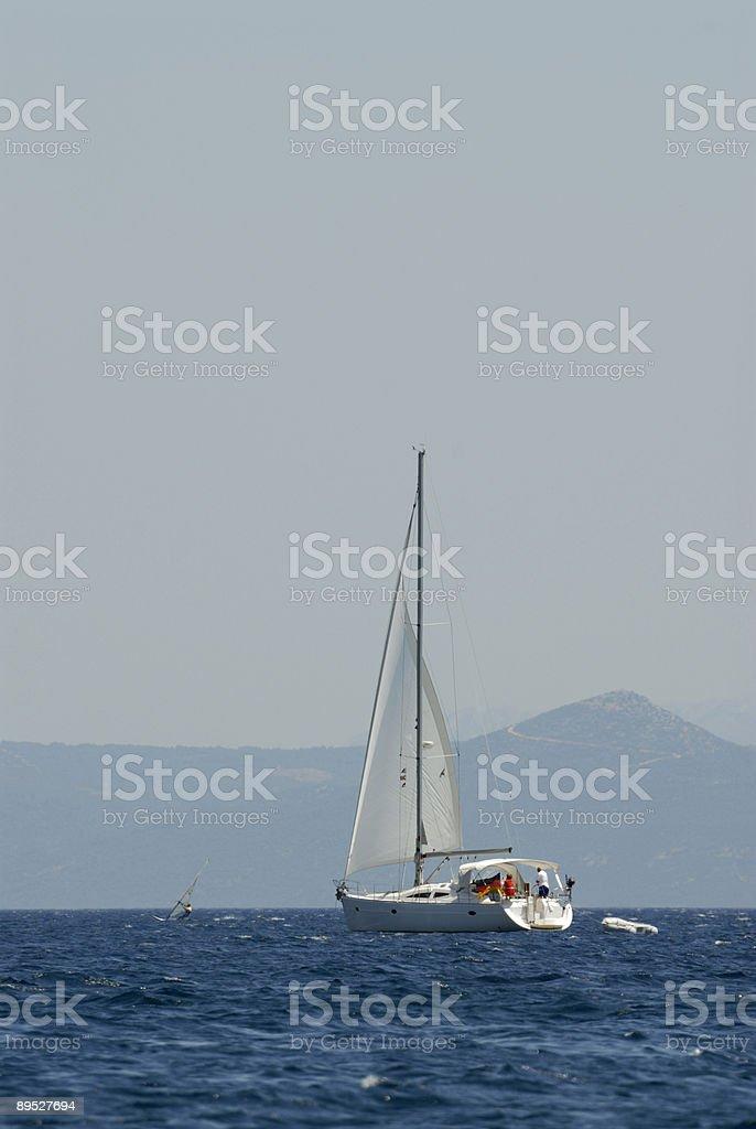 Sail away 免版稅 stock photo