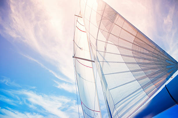 sail background - sail stock pictures, royalty-free photos & images