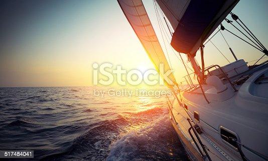istock Sail boat 517484041