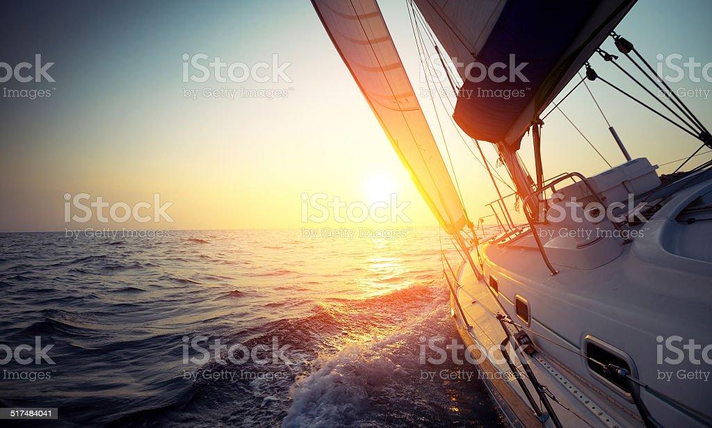 Sail boat bildbanksfoto