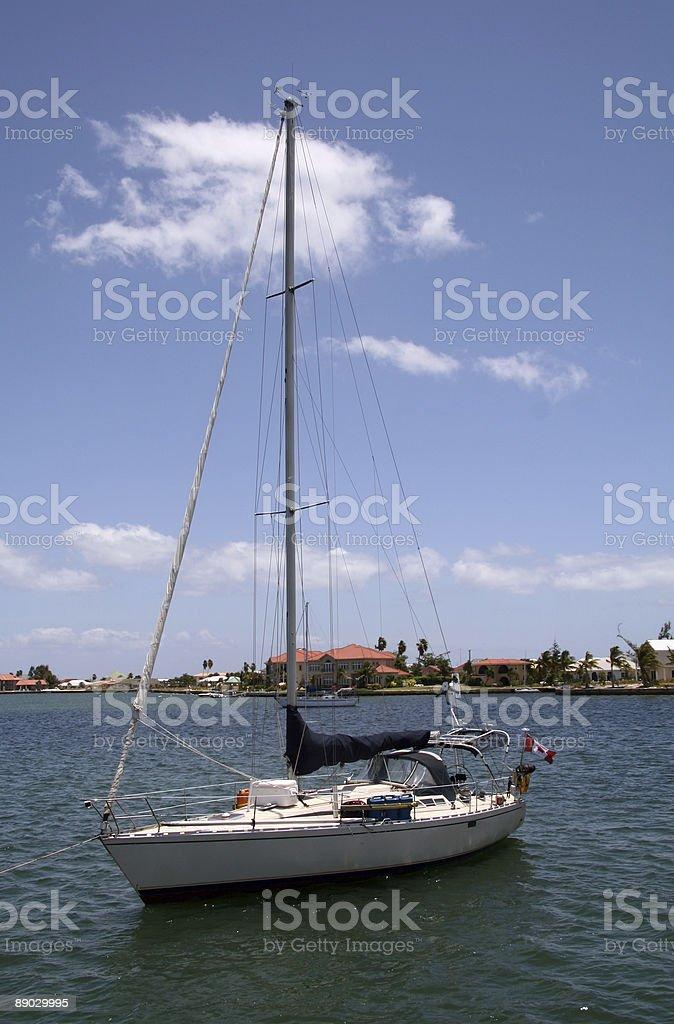 Sail Boat royalty-free stock photo
