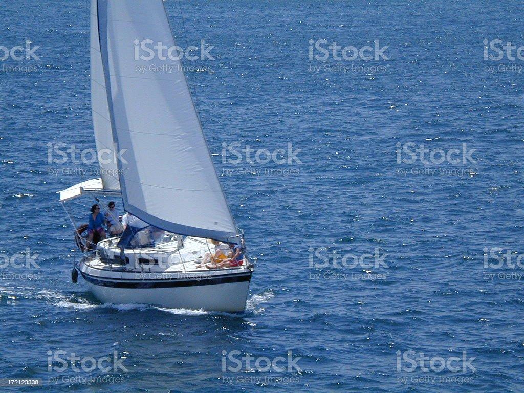 Sail Boats 803 royalty-free stock photo
