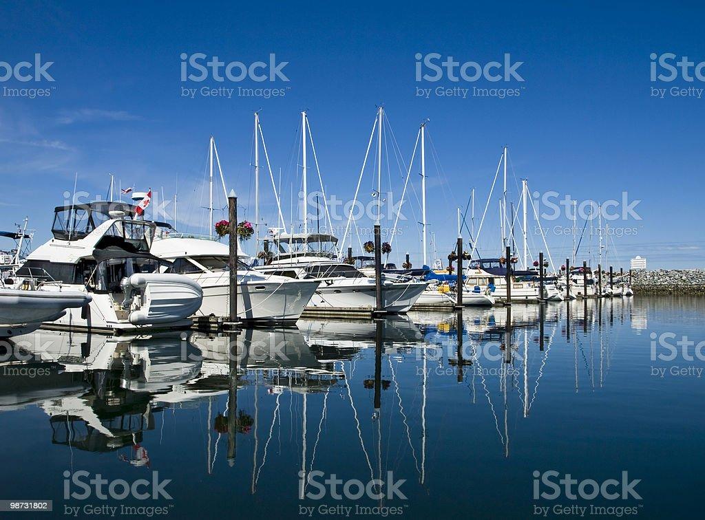 Sailboar marina1 photo libre de droits