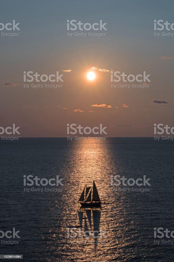 Sailboat Alignment stock photo