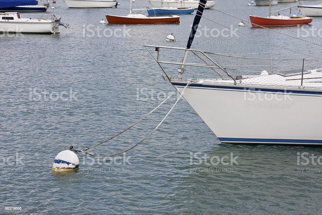 Boa-Barca a vela foto stock royalty-free