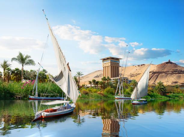 Segelboot in Assuan – Foto