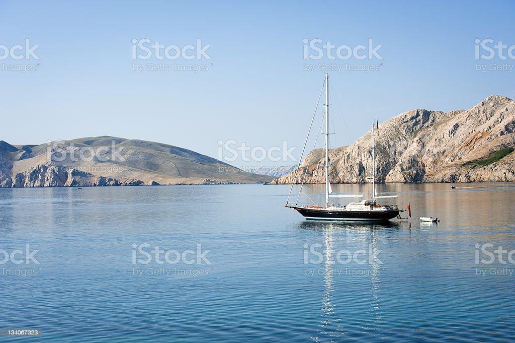 Segelboot auf der Adria in Kroatien – Foto