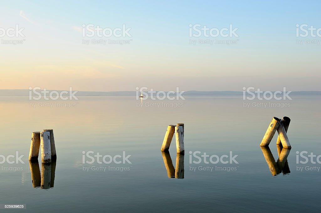 Segelboot Neusiedl am See – Foto