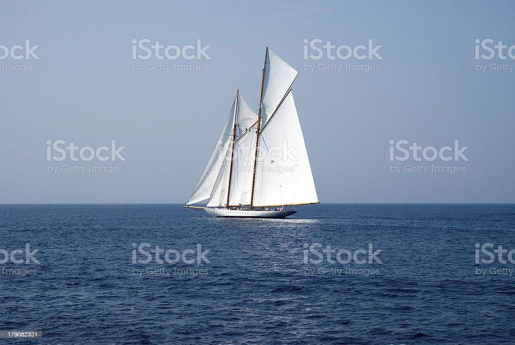 Sailboat royalty-free stock photo