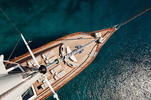 Barco de vela  - foto de stock