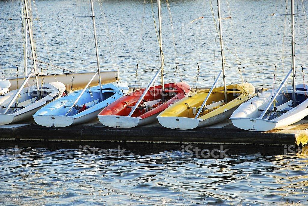 Sailboat Training Vessels royalty-free stock photo