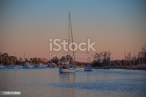 Sailboats in Georgetown, SC