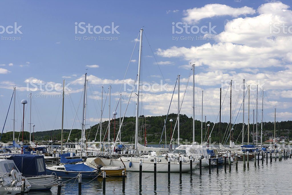 Sailboats royalty-free stock photo