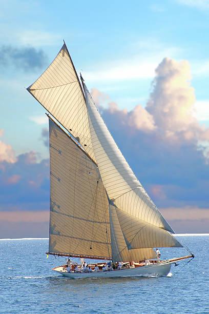 sailing 1 stock photo