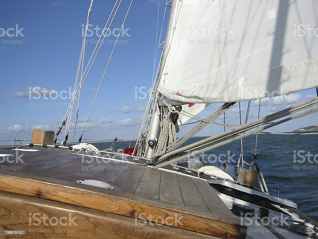Sailing 3 royalty-free stock photo