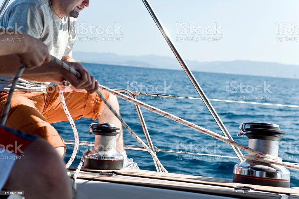 Sailing Advernture stock photo