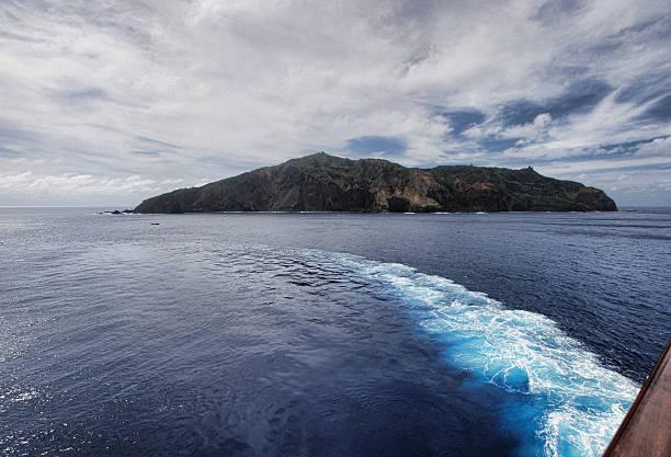 Segeln von PItcairn Island – Foto