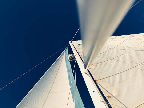 Sailing Background stock photo